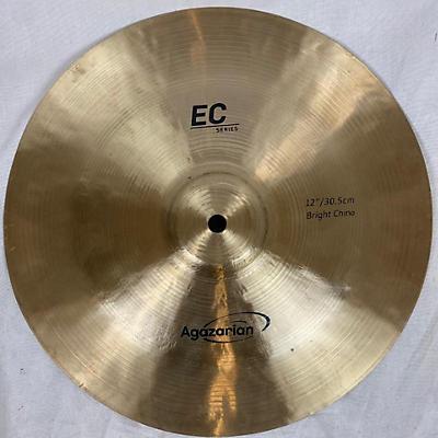 Agazarian 12in EC Series Bright China Cymbal