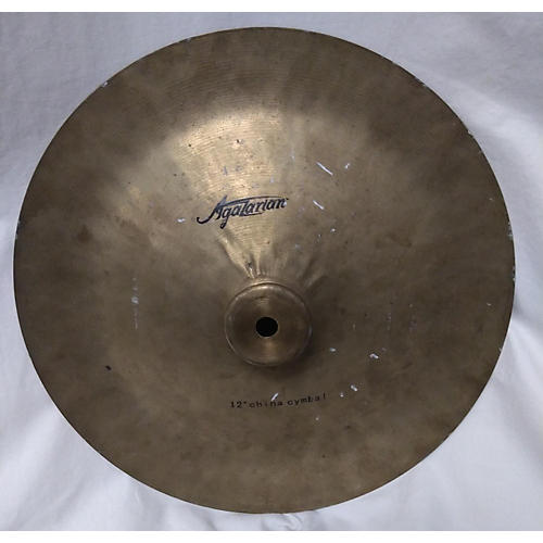 Agazarian 12in Traditional China Cymbal 30