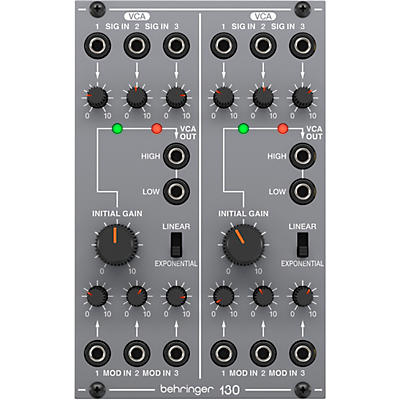 Behringer 130 Analog Dual VCA Eurorack Module