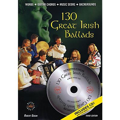 Music Sales 130 Great Irish Ballads Music Sales America Series Softcover with CD