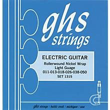 GHS 1315 Rollerwound Nickel Wrap Light Strings