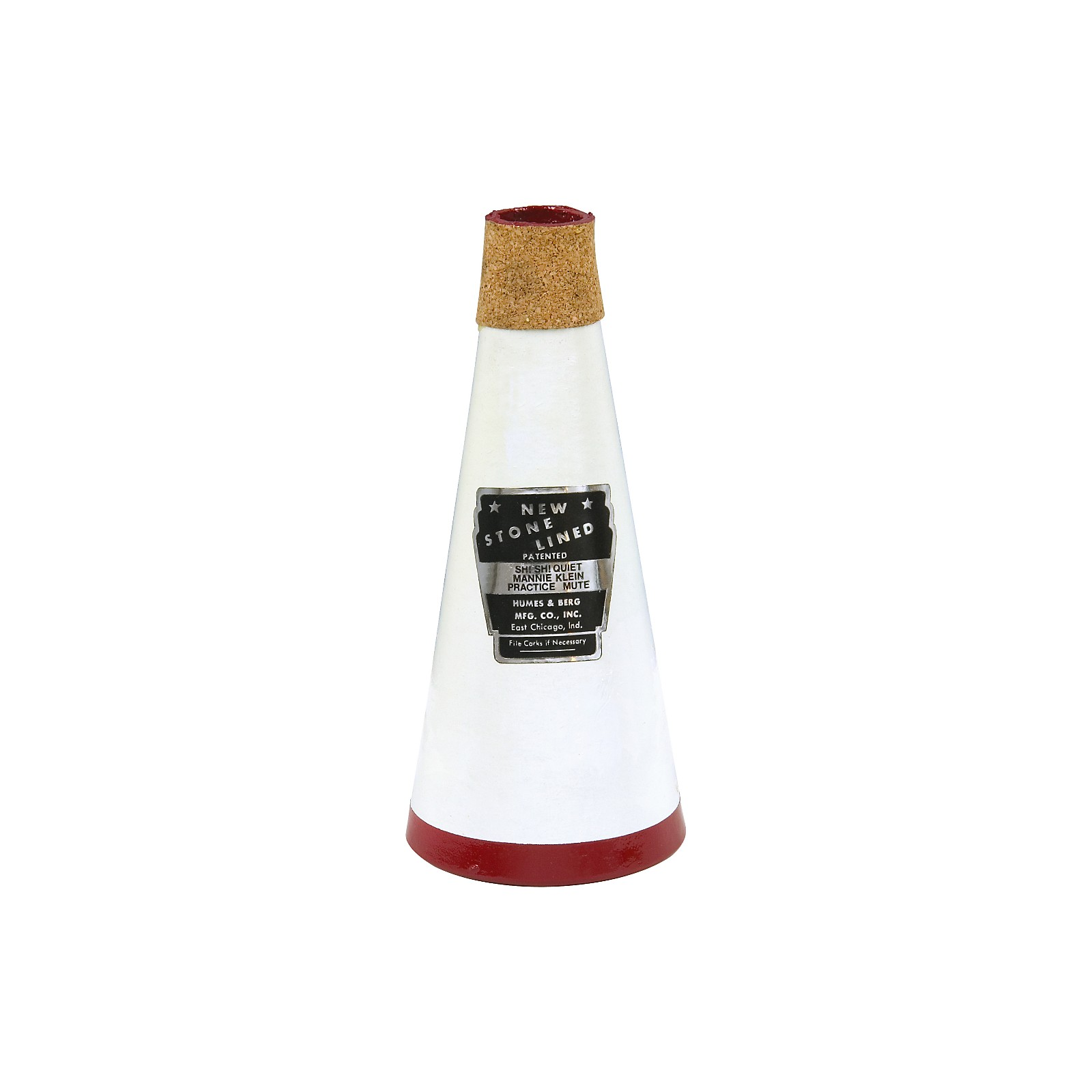 Humes & Berg 132 Stonelined Sh! Sh! Practice Trumpet Mute