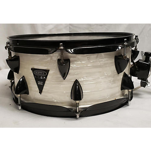 Orange County Drum & Percussion 13X6 Venice Series Snare Drum Pearl White 196