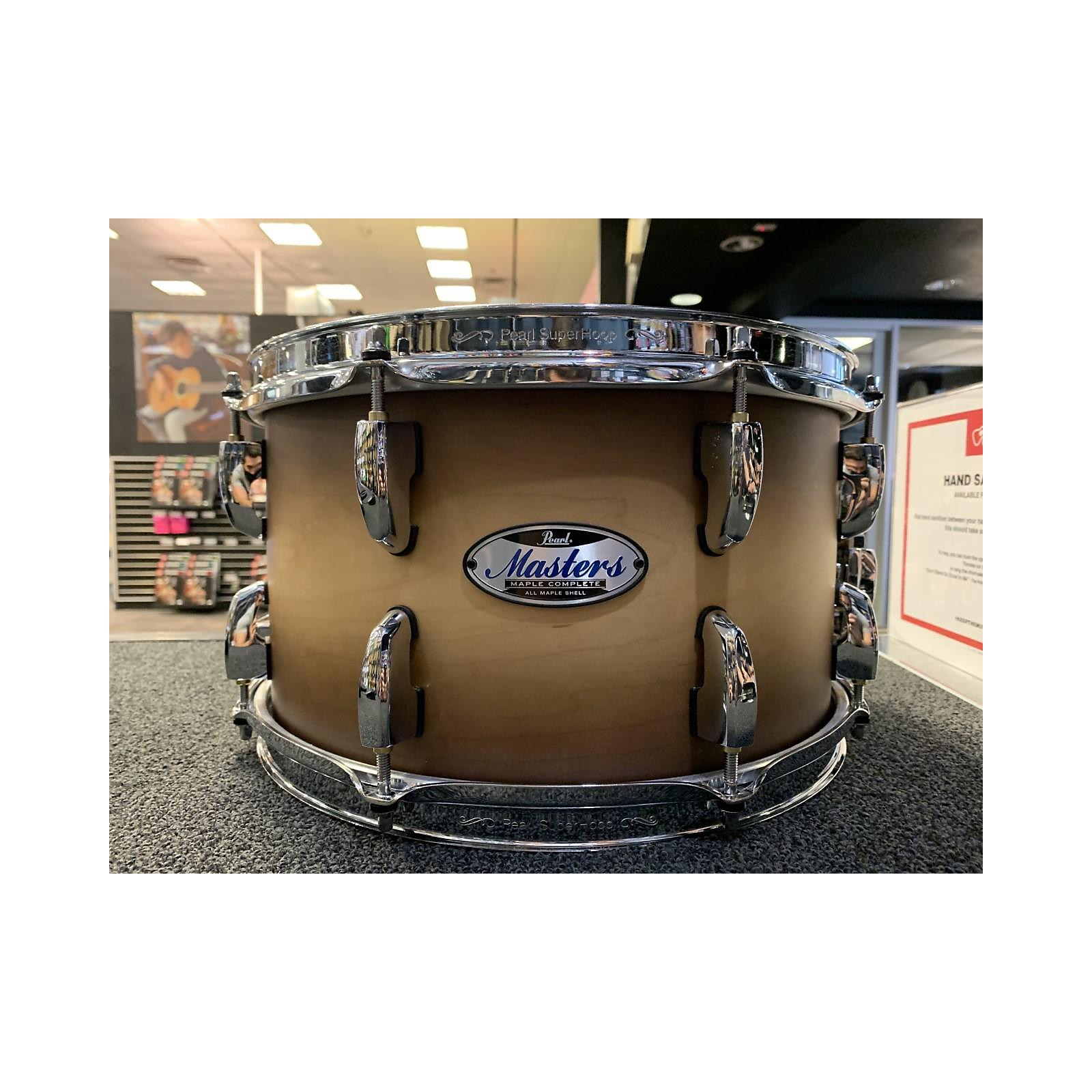 Pearl 13X6.5 Masters Maple Complete Snare Drum