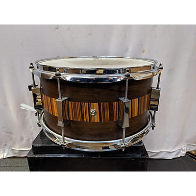 Pork Pie 13X7 Exotic Rosewood And Zebrawood Snare Drum