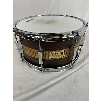 Pork Pie 13X7 Exotic Rosewood Zebrawood Drum