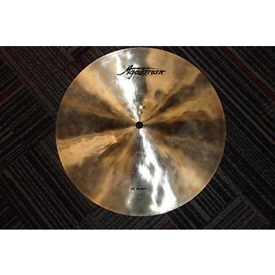 Agazarian 13in 13 INCH HI HAT Cymbal