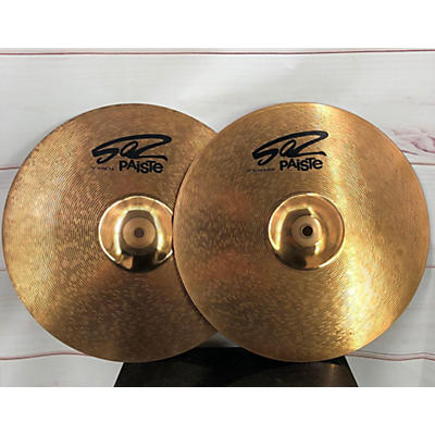 Paiste 13in 502 Hi Hat Pair Cymbal