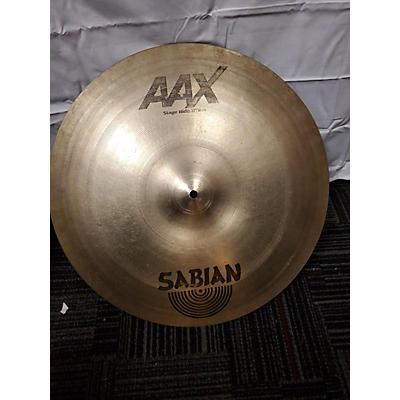 Sabian 13in AAX Studio Crash Brilliant Cymbal