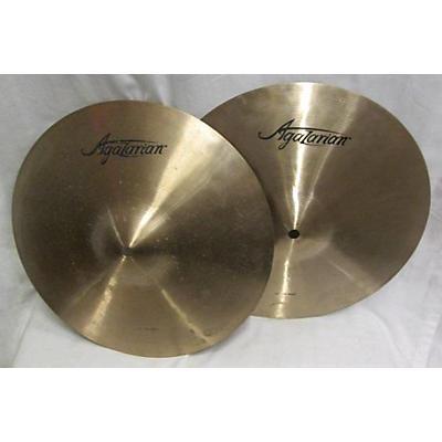 Agazarian 13in Hihats Cymbal