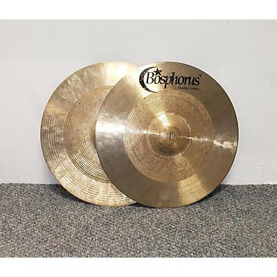 Bosphorus Cymbals 13in Master Series Hi Hat Pair Cymbal