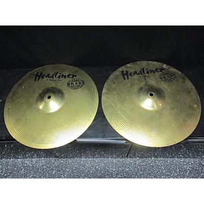 Headliner 13in PAIR Cymbal