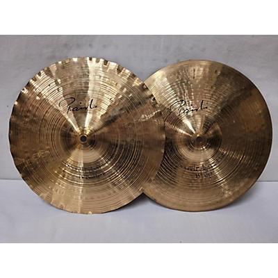 Paiste 13in Signature Sound Edge Hi Hat Pair Cymbal