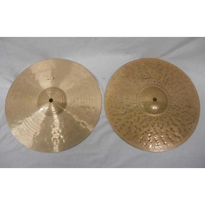 Paiste 13in Signature Traditional Medium Light Hi Hats Cymbal