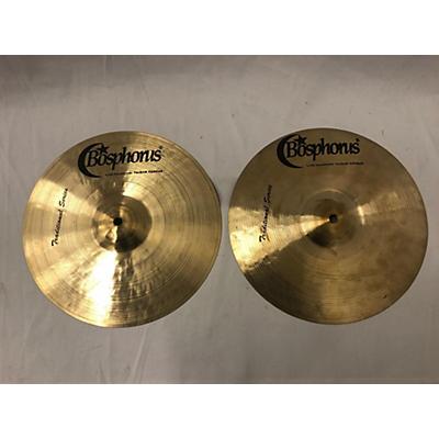 Bosphorus Cymbals 13in Traditional Light Hi Hats Cymbal