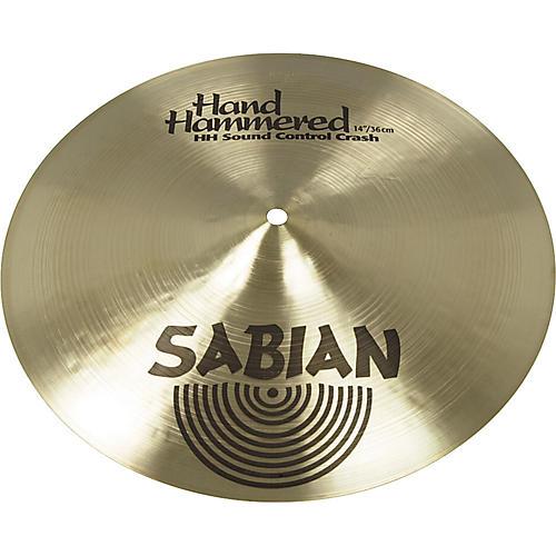 sabian 14 hh series sound control crash cymbal musician 39 s friend. Black Bedroom Furniture Sets. Home Design Ideas