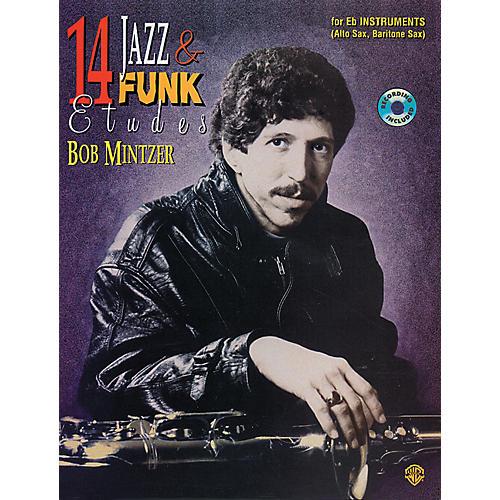 Alfred 14 Jazz & Funk Etudes Book/CD