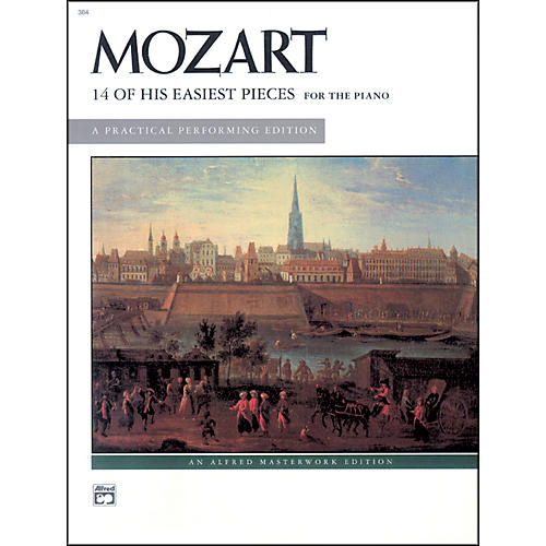 Alfred 14 of His Easiest Piano Pieces