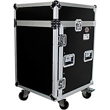 ProX 14U Rack x 10U Top Mixer DJ Combo Flight Case