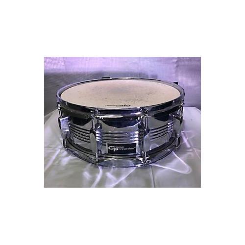 Groove Percussion 14X5  Aluminum Snare Drum Chrome 210