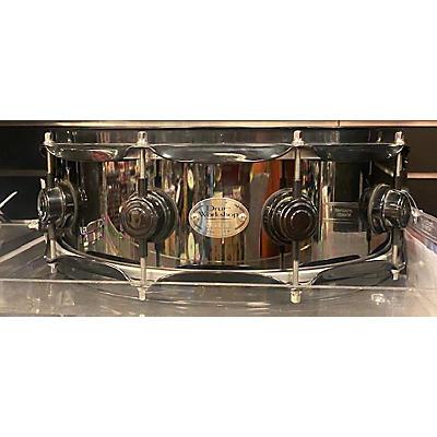 DW 14X5  BLACK ALUMINUM Drum