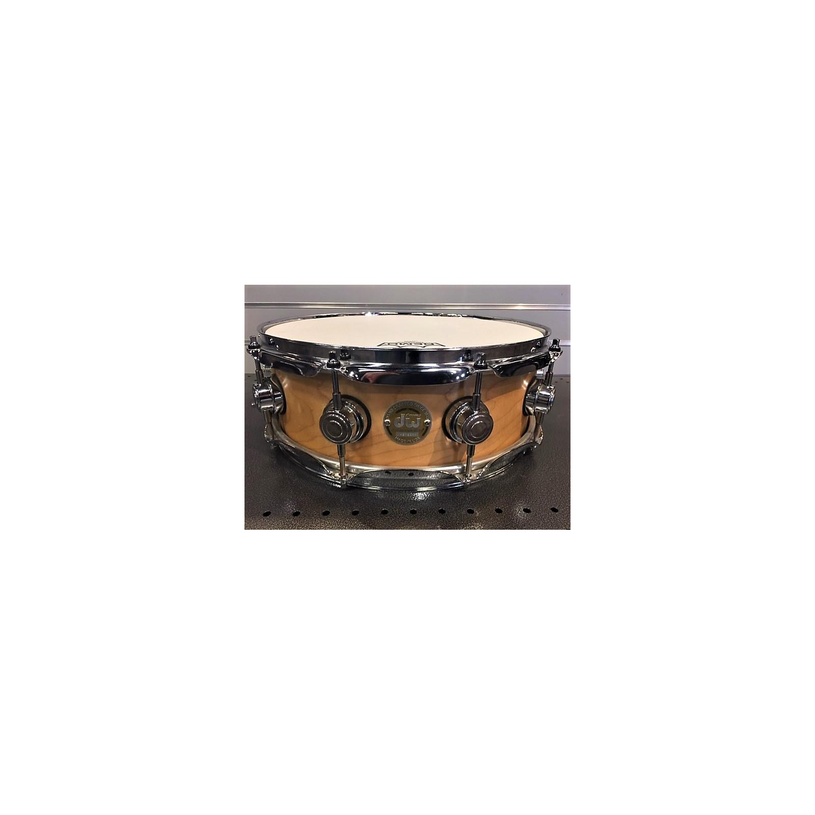 DW 14X5  Collector's Series 10 AND SIX MAPLE SNARE Drum