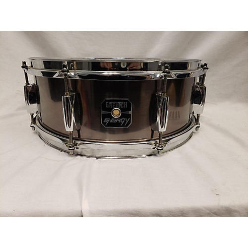 Gretsch Drums 14X5.5 Energy Snare Drum Metallic Silver 211