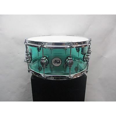 DW 14X6 Design Series Acrylic Snare Drum