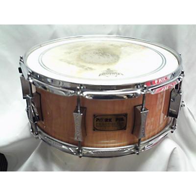 Pork Pie 14X6 FLAME MAPLE SNARE Drum