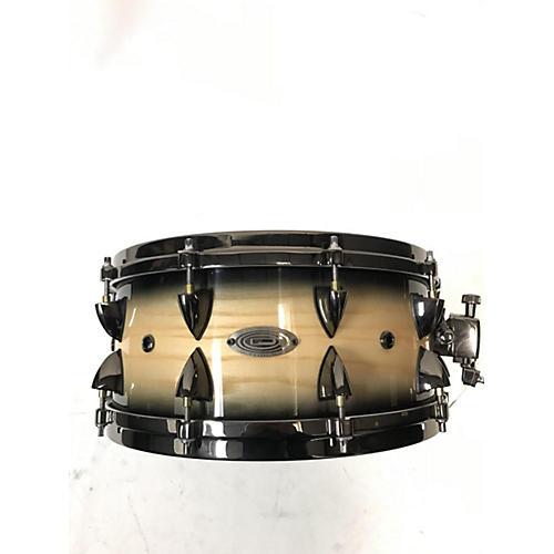 Orange County Drum & Percussion 14X6 OCDP 14X6 MAPLE SNARE Drum NATURAL BLACK BURST 212