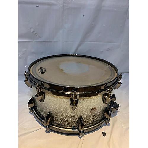 Orange County Drum & Percussion 14X6.5 25 Ply 14x6.5 Snare Drum Silver Sparkle 213