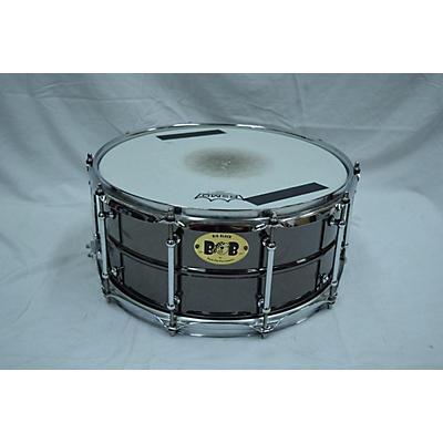 Pork Pie 14X6.5 BIG BLACK BLOB Drum