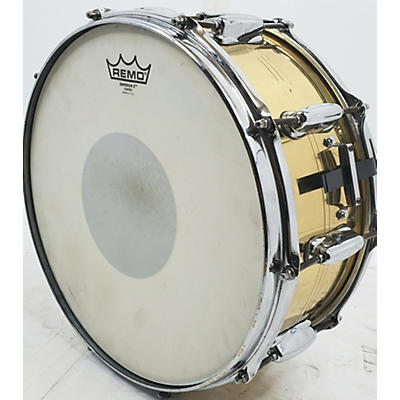 Slingerland 14X6.5 Brass Over Steel Snare Drum
