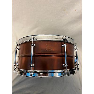 C&C Drum Company 14X6.5 Copper Over Brass Drum