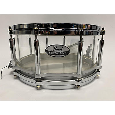 Pearl 14X6.5 Crystal Beat Snare Drum