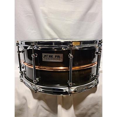Pork Pie 14X6.5 Patina Copper Snare Drum