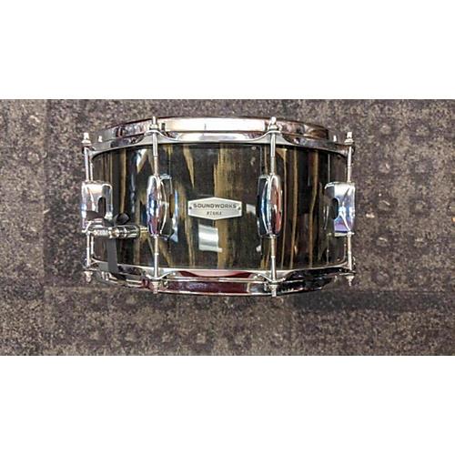 TAMA 14X6.5 Soundworks Drum Trans Black 213