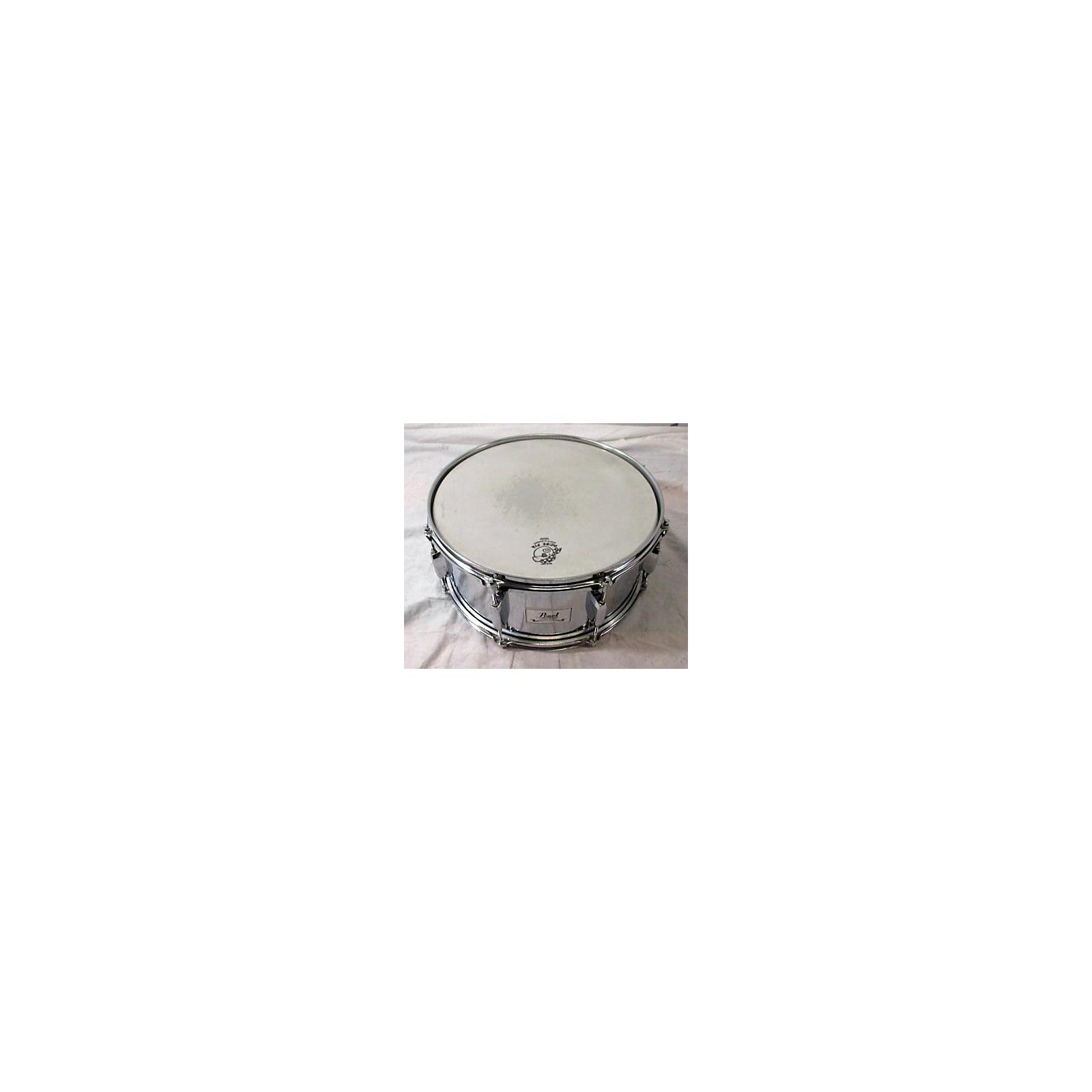 Pearl 14X6.5 Steel Snare Drum