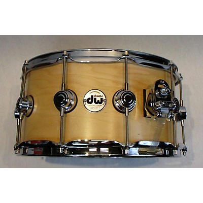 DW 14X7 Collector's Edge Series Finish Ply Snare Drum