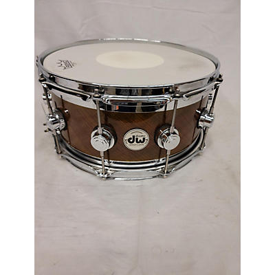 DW 14X7 Collector's Series Exotic Edge Snare Drum