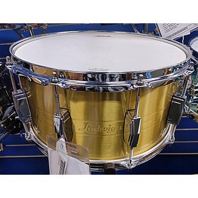 Ludwig 14X7 HEIRLOOM BRASS Drum