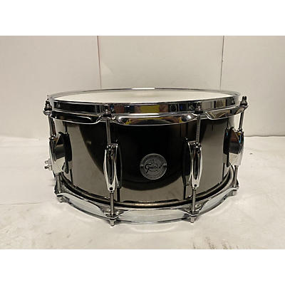Gretsch Drums 14X7.5 Black Nickel Over Steel Snare Drum Drum