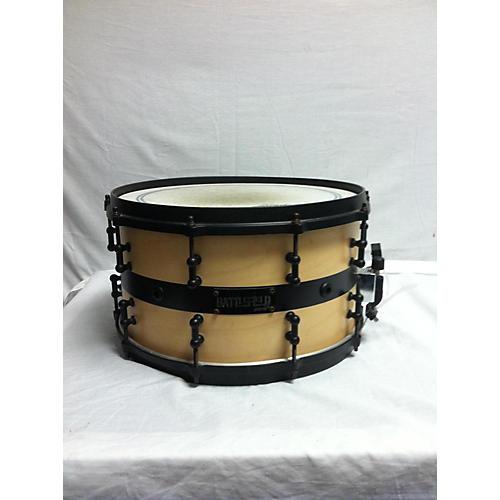 Battlefield Drums 14X8 Custom Snare Drum Natural 216