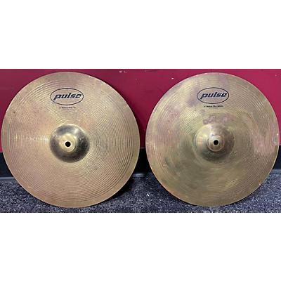 "Pulse 14in 14"" In Hi Hat Pair Cymbal"