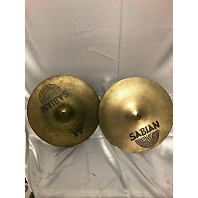 Sabian 14in 14in HH Regular Hats Pair Cymbal