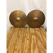 Paiste 14in 2002 SOUND EDGE HI HAT PAIR Cymbal