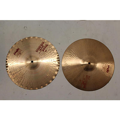 Paiste 14in 2002 Sound Edge Hi Hat Pair Cymbal