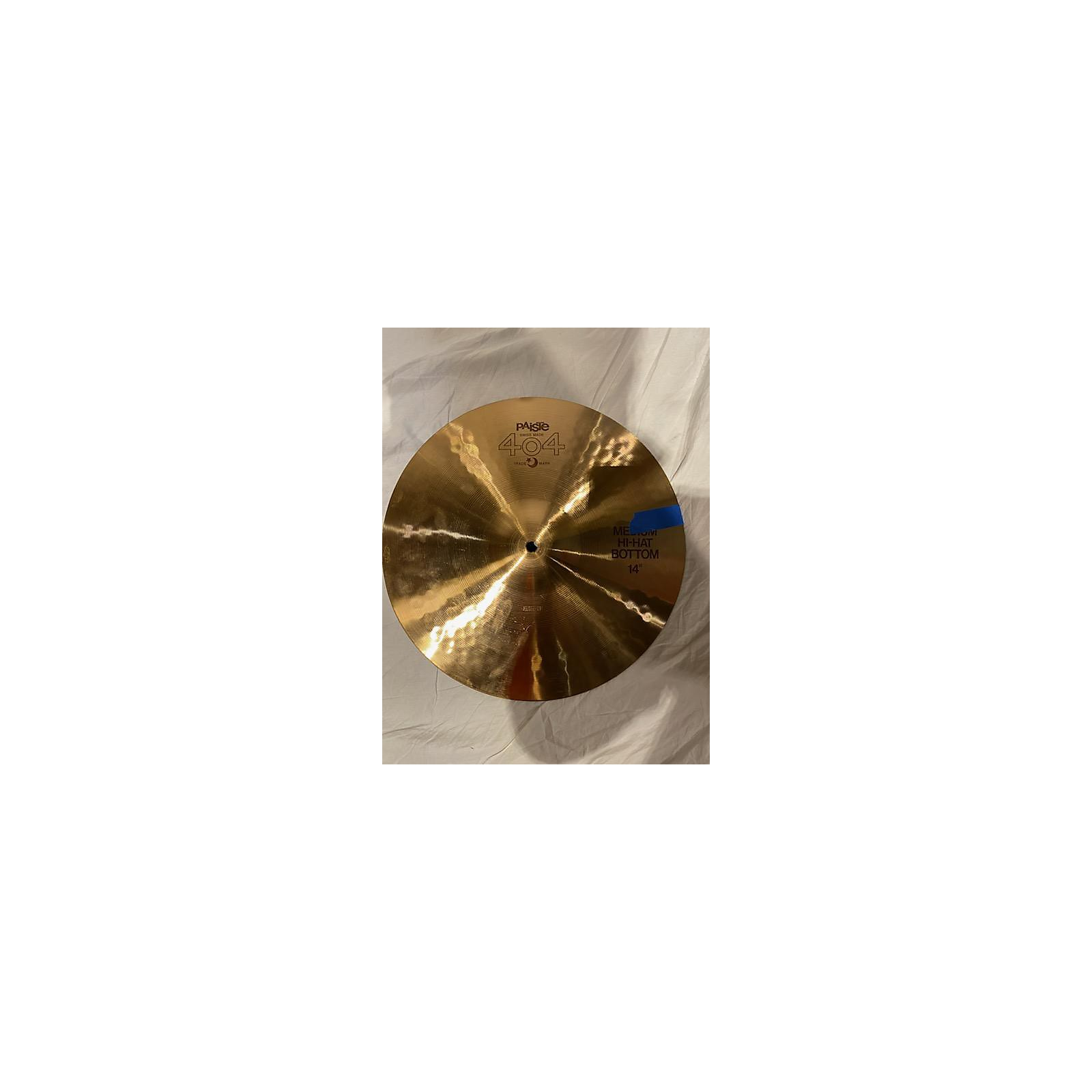 Paiste 14in 404 BROWN LABEL PAIR Cymbal
