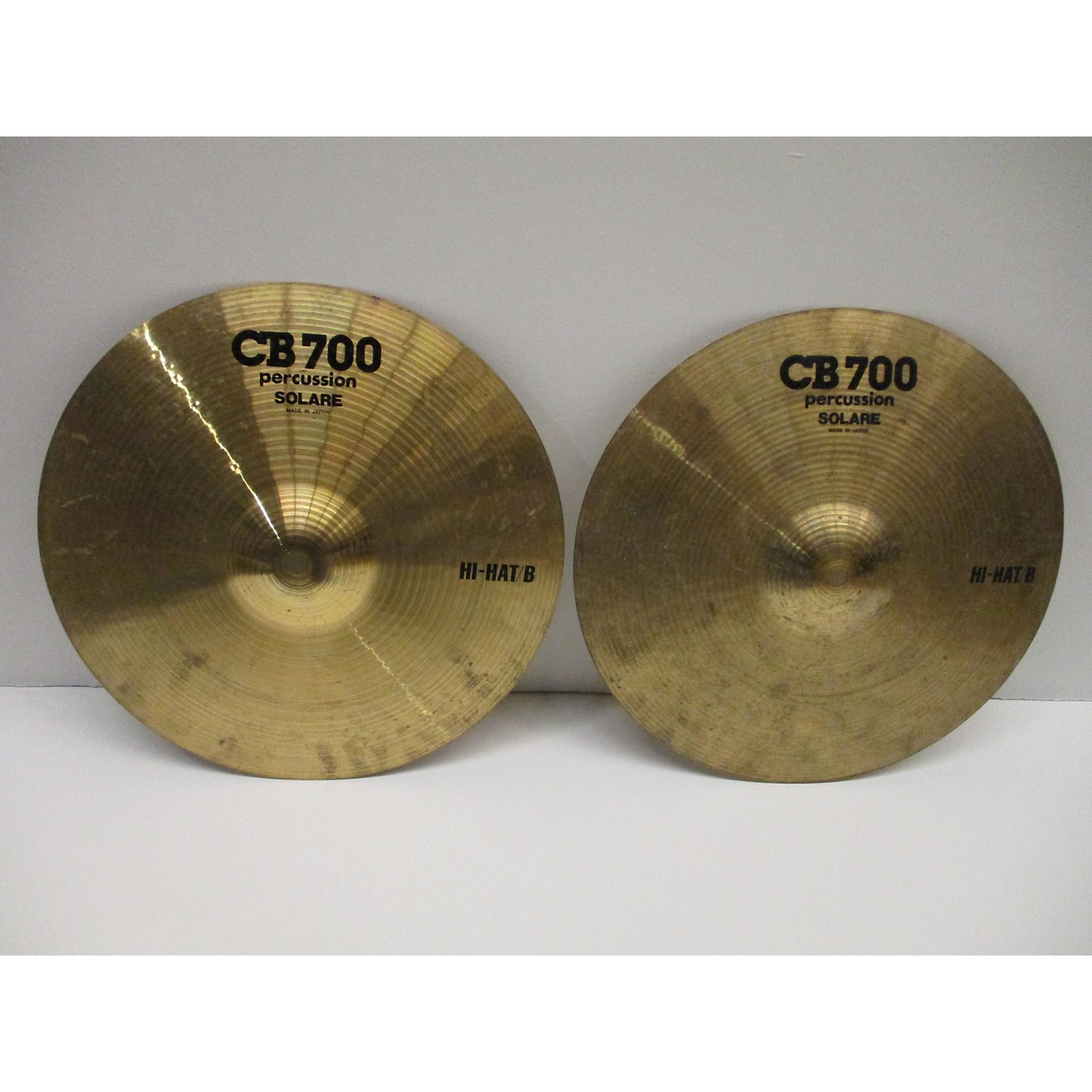 CB Percussion 14in 700 HI HAT PAIR Cymbal