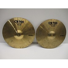 CB Percussion 14in 700 HI HAT PAIR Cymbal